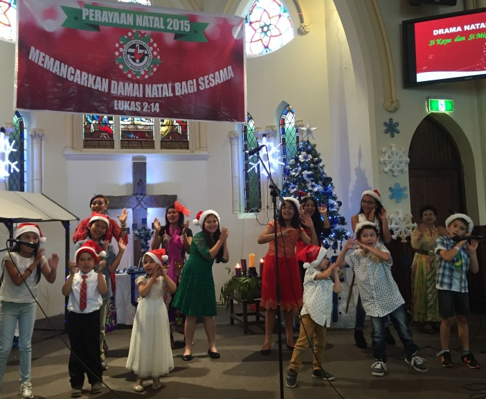 Christmas celebrations start early at Mulgrave and Brunswick Indonesian congregations.